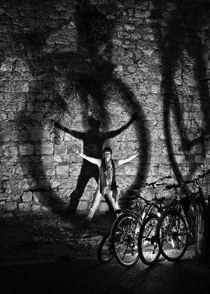 Fotografia de Rua/the cyclist