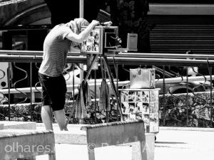 Fotografia de Rua/O fotógrafo estava lá