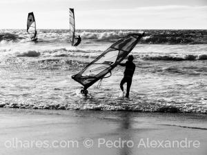 Desporto e Ação/Windsurf no Guincho