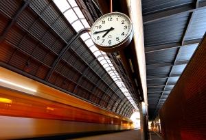 Paisagem Urbana/O comboio das Oito menos um Quarto