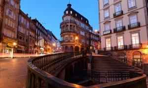 Paisagem Urbana/Atmosfera de fim de tarde no Porto