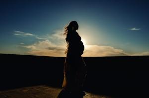 Retratos/Gestante ao sol