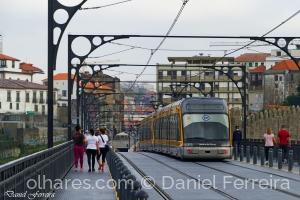 Paisagem Urbana/Metro do Porto, na Ponte Luiz I
