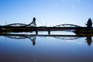 Paisagem Natural/A ponte basculante ...