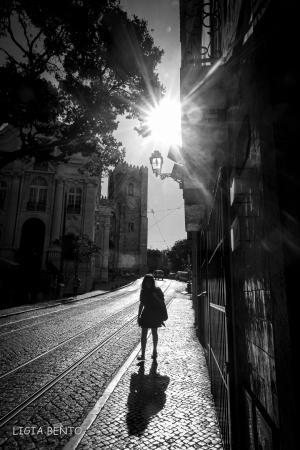 Fotografia de Rua/quem desce da sé