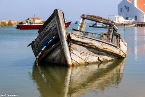 História/Barco abandonado