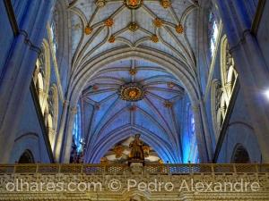 História/Teto da catedral de Palência