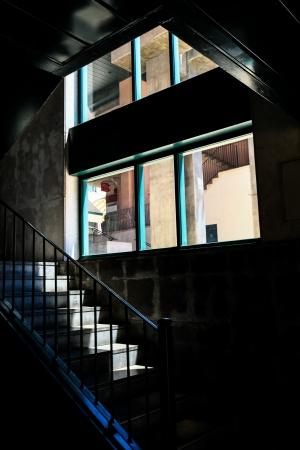 Paisagem Urbana/Composição com escada