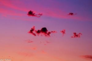 Paisagem Natural/Nuvens ao anoitecer