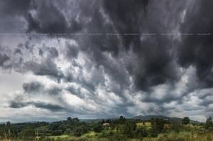 Paisagem Natural/Céu de Tempestade