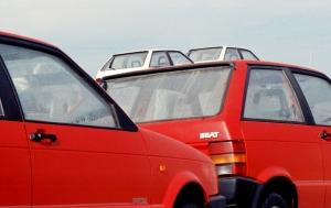 Fotografia de Rua/Dois pares de SEAT (anos 80-finais)