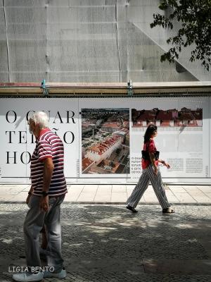 Fotografia de Rua/com toques de vermelho