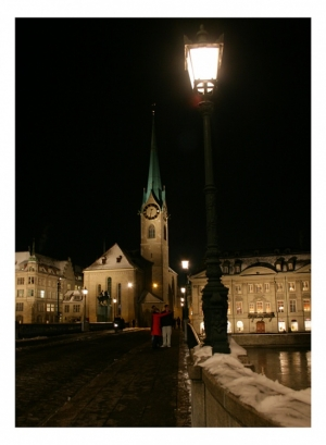 Paisagem Urbana/Zurique by Night