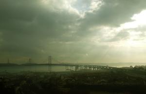 Paisagem Urbana/Lisboa [para a outra margem do rio]