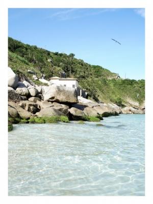 Paisagem Natural/Uma casa à beira-mar