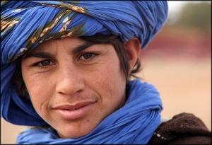 /O sorriso do Tuareg