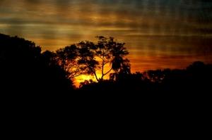Paisagem Natural/Pôr do Sol nas Missões