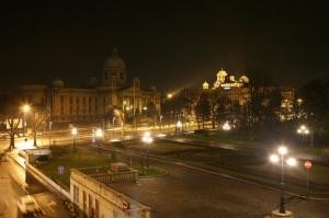 Gentes e Locais/Belgrado, noite 2