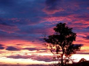 Paisagem Natural/Das tintas que colorem o céu