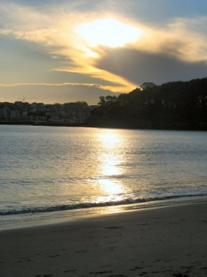 /Sunset in Galicia