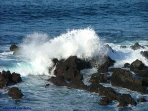 /passagem das ondas
