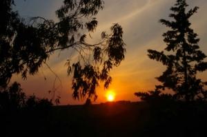 /Por do Sol no Guadiana