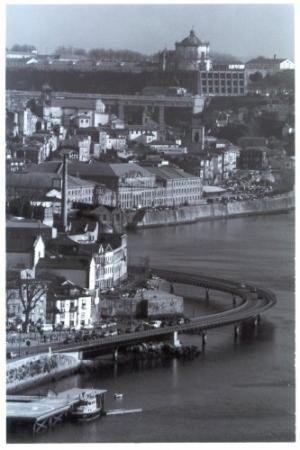 /A serenidade vista da ponte