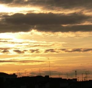Paisagem Urbana/nuvens