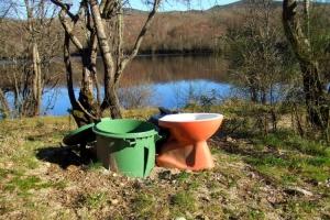 Gentes e Locais/Um Ecoponto Diferente (com as cores nacionais)