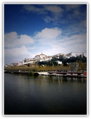 /Coimbra da ponte pedonal