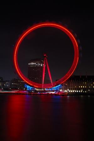 /London Eye at Night