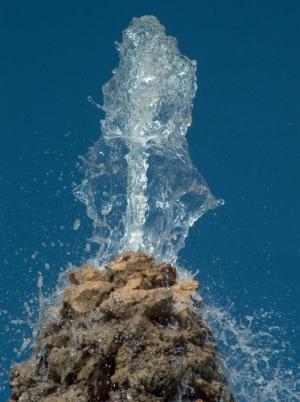 /Agua cristalina