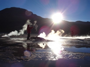 /Geyser El Tatio / Chile