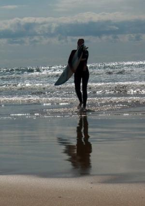 Desporto e Ação/Surf no feminino