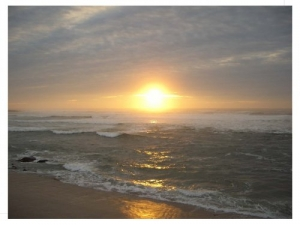 /Pôr do Sol num canto do Mundo...