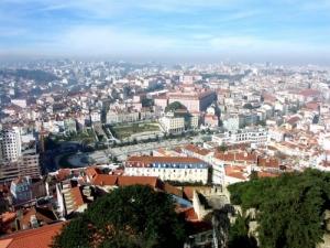 /Lisboa - Vista do Martim Moniz