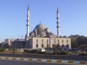 /Uma mesquita em Istambul