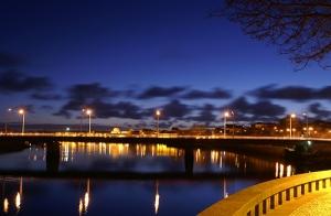 /O outro lado da ponte...
