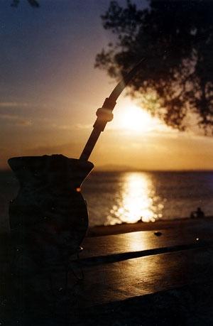 /Pôr-do-sol em POA
