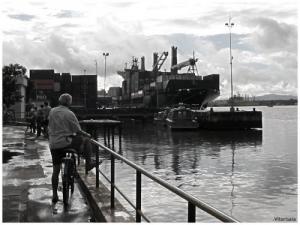 /Fim de tarde no porto...