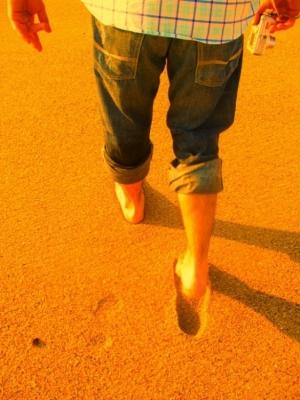 Outros/Pegadas na areia