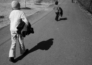 /Caminhando..