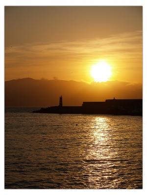 Outros/Pôr do Sol sobre a Ilha do Faial