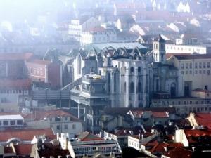 /Elevador de Santa Justa em Lisboa