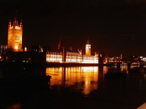 /House of Parliment by night
