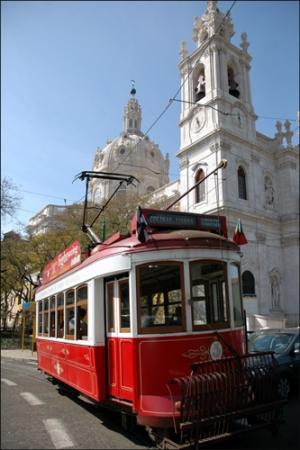 /Tram à Lisbonne