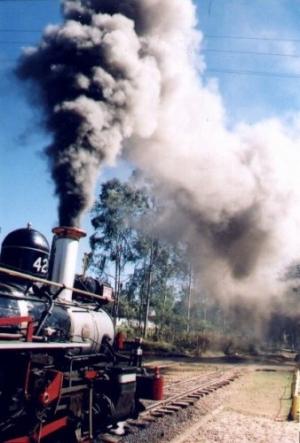 /Maria fumaça em Tiradentes