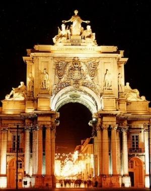 /Arco da Rua Augusta - Lisboa