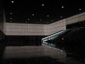 Paisagem Urbana/Terminal B no Aeroporto de Barcelona
