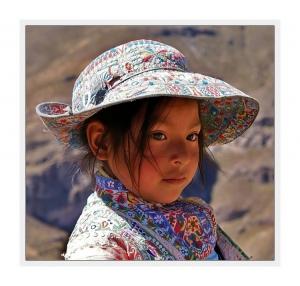 """Retratos/""""Criança Peruana..."""""""